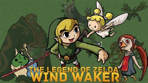 The Legend Of Zelda Wind Waker The Legend Of Zelda Link