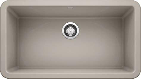 ikon  apron front silgranit concrete gray null
