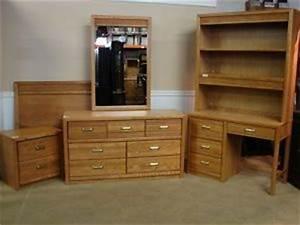 stanley furniture oak bedroom set 6 pc youth bedroom With stanley furniture youth bedroom sets