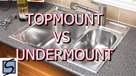 undermount sink vs top mount topmount vs undermount sinks which sink should i choose