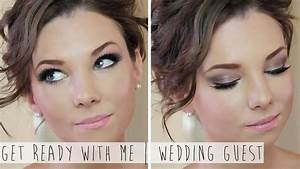 Get Ready With Me Wedding Guest Hair Makeup YouTube