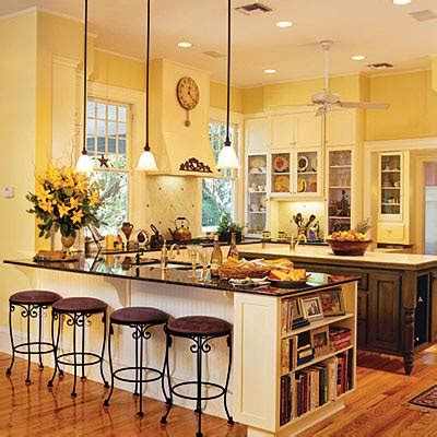 country yellow paint color kitchen remodeling ideas small kitchens and
