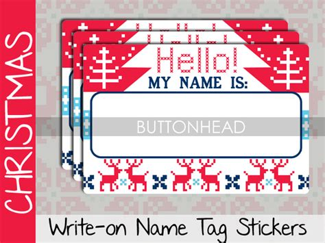 christmas party  tags buttonhead