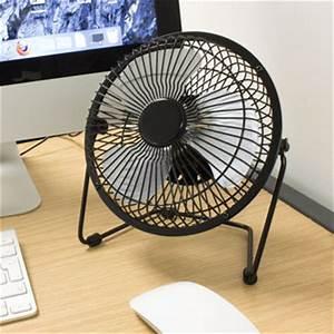 Petit Ventilateur De Bureau : ventilateur de bureau usb haute puissance m tal ~ Nature-et-papiers.com Idées de Décoration