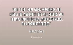 Experiences Quo... Funny Work Experience Quotes