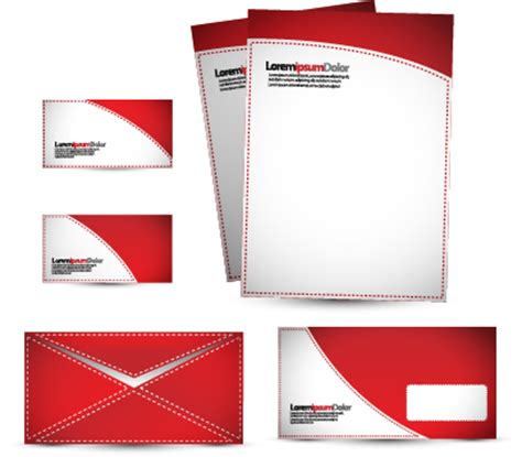 letterhead stationery business cards envelopes