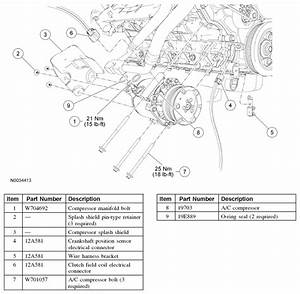 Ford E-series Cargo Questions - How Do I Replace Ac Compressor