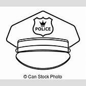 Police cap Stoc...