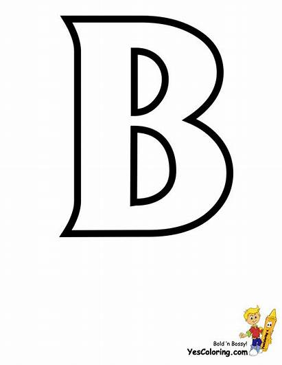 Letter Coloring Yescoloring Printables Alphabet Standard Alphabets