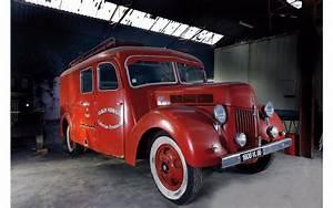 Cote Vehicule Ancien : des anciens v hicules de pompiers mis en vente aux ench res ford v8 fin l 39 argus ~ Gottalentnigeria.com Avis de Voitures