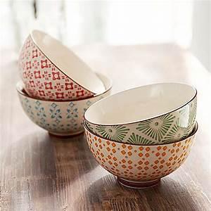 Teller Set Bunt : keramik schalen set 4 tlg bunt jetzt bei bestellen ~ Orissabook.com Haus und Dekorationen