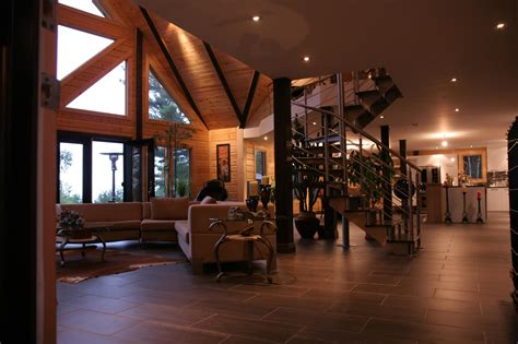 home interiors photos a modern day log home absolutely timber block