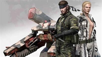 Gear Metal Solid Snake Eater Wallpapers 4k