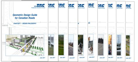 Design Guide by Geometric Design Guide For Canadian Roads Tac Atc Ca