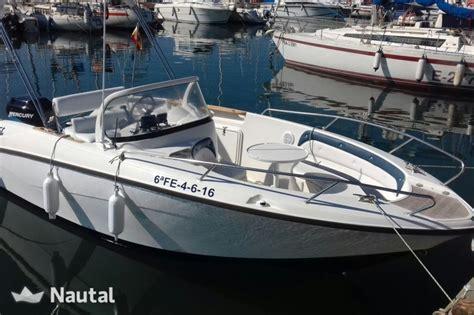 motorboat rent quicksilver qs 600 commander in el masnou barcelona nautal