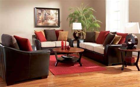 two sofa living room two tone contemporary living room sofa w multi color pillows