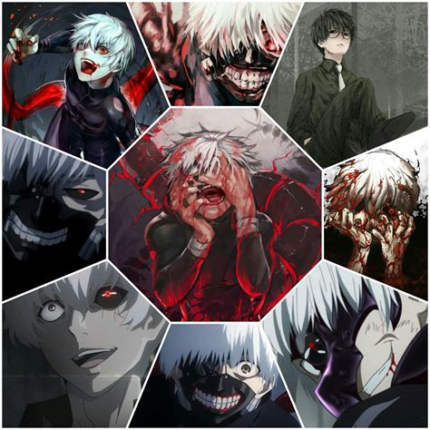Collage Tokyo Ghoul ・tokyo Ghoul・ Amino