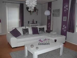 awesome deco salon gris et blanc pictures design trends With deco salon noir et gris