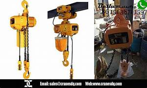 5 Ton Chain Hoist And Wire Rope Hoist