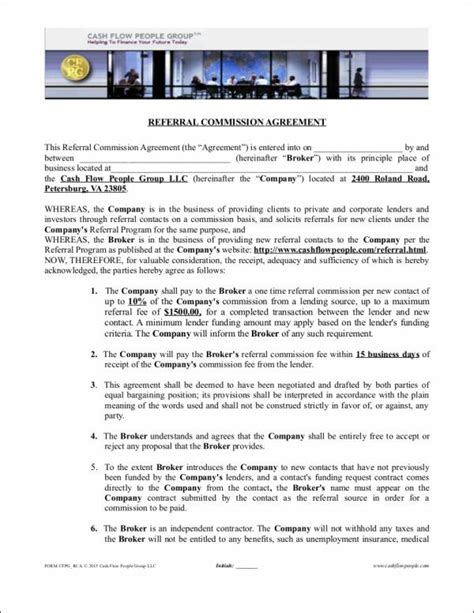 Commission Agreement Template Australia by Commission Agreement 12 Commission Agreement Template