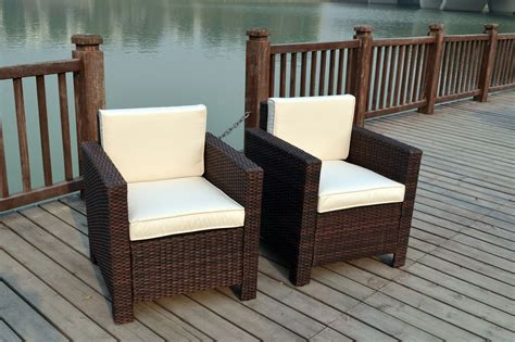 Garden Furniture Chairs by New Single Chairs Rattan Wicker Conservatory Outdoor