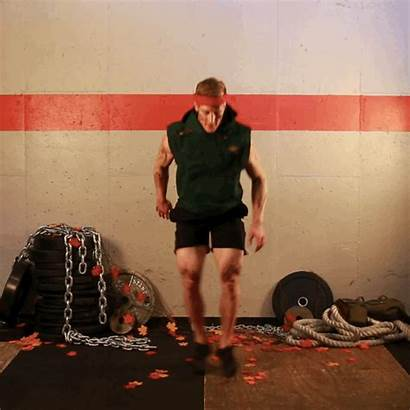 Drop Workout Squat Knees Chest Touch Heels