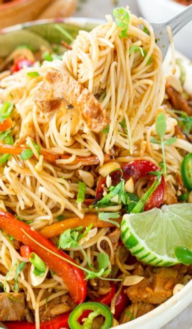 Chinese Noodles with Pork