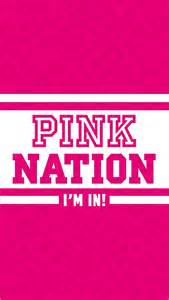 Pink Nation iPhone Wallpaper