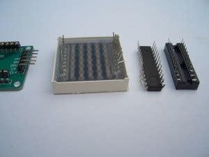 mein paket ein max7219 dot matrix led bausatz arduino hannoverarduino hannover