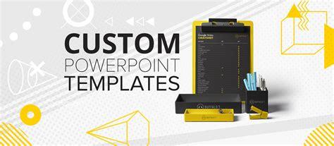 create  custom powerpoint template buffalo