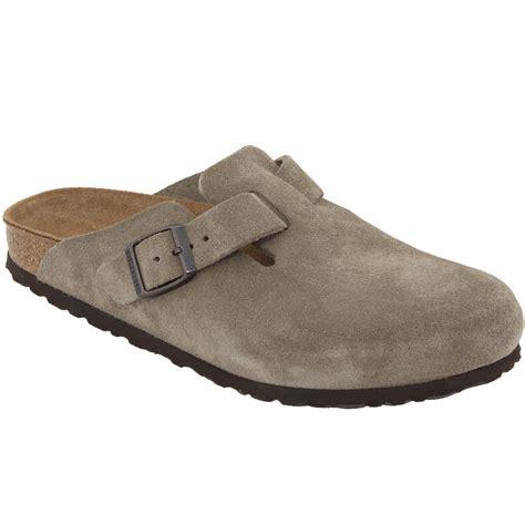 Sas Shoes Boston by Birkenstock Boston Taupe Suede 6046 Unisex