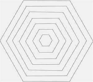 41 Fabulous Printable Hexagon Template