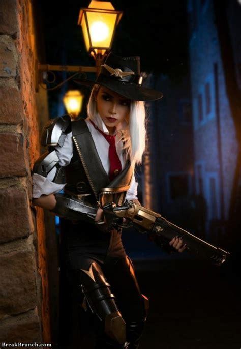 overwatch ashe cosplay  pics breakbrunch