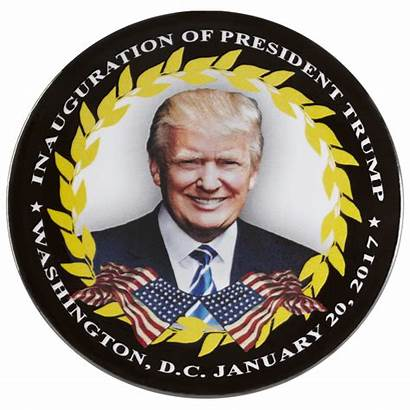 Trump Donald President Inauguration Button Inaug Vice
