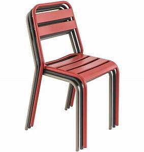 Chaise Terrasse Restaurant : mobilier coulomb chaise de terrasse m tal bastille mobilier terrasse de bar restaurant chr ~ Teatrodelosmanantiales.com Idées de Décoration