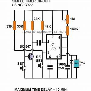 555 Adjustable Timer Circuits