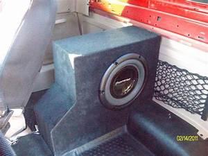 For Sale  10 U0026quot  Custom Made Subwoofer Box- Al