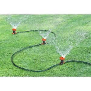 portable sprinkler system 158839 yard garden at