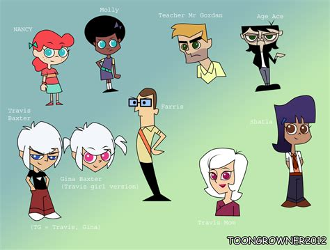 Character Color Scheme Tg Baxter By Toongrowner On Deviantart