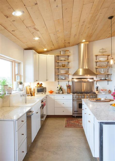 25+ Best Wood Plank Ceiling Ideas On Pinterest