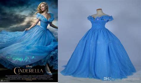 what color is cinderella s dress cinderella prom dresses 2015 custom made blue color