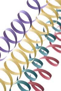 serpentin mariage le lot de 20 rouleaux serpentins multicolor 6m soirées fêtes et mariage