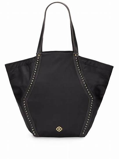 Tote Oryany Nylon Leather Narelle Trimmed