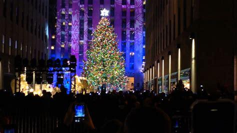 nyc christmas tree lighting 2017 new york city christmas tree lighting christmas trees 2017