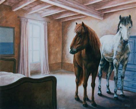 chambre cheval fille deco chambre cheval