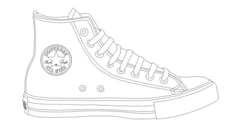converse tennis shoe template stamping tutorials