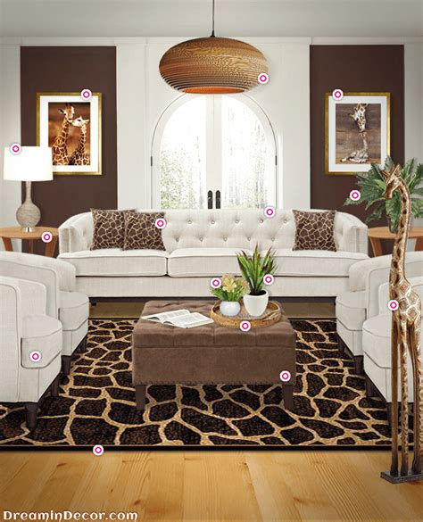 Decorating Living Room Safari Theme by Elevate Your Style With The Look Of Giraffe Home