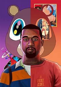 Kanye West Evolution Poster | Inkship Art – inkship