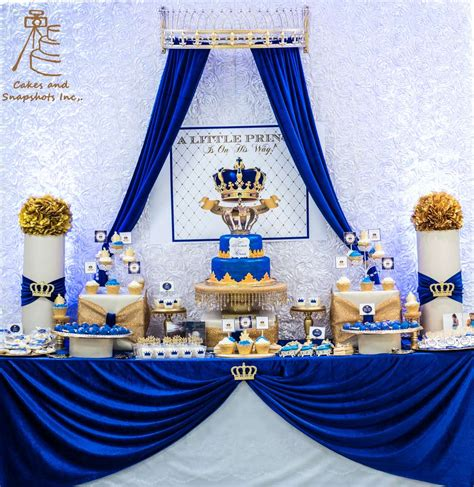 baby boy prince theme royal prince baby shower party ideas photo 1 of 26 catch my party