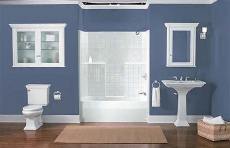 bathroom paint color ideas blue colour scheme 04 small